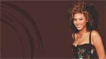 cartão de visita Cabelereiros afro: mulher cabelo-crespo e marrom