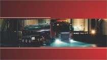 modelo de cartão de visita Caminhões MBHZCAM16
