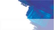 cartão de visita Contabilidade moderno: azul com branco