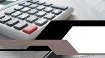 cartão de visita Contabilidade cálculo: calculadora e cinza com preto
