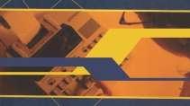 cartão de visita Contabilidade moderno: calculadora e amarelo