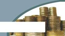 cartão de visita Contabilidade monetário: moedas e verde com amarelo