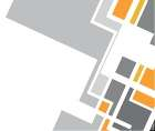 cartão de visita Engenharia produção: projetos e laranja com cinza