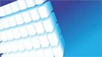 cartão de visita Engenharia quimica: blocos e azul