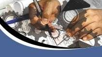 cartão de visita Engenharia controle_automação: projeto e azul