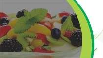 cartão de visita Frutas