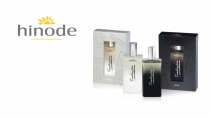cartão de visita Hinode luxo: perfumes e branco