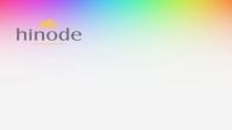 cartão de visita Hinode fidelidade: arco-iris