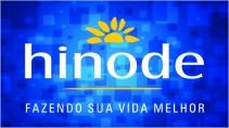 cartão de visita Hinode criativo: sol e azul