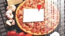 modelo de cartão de visita Pizzaria MBHZPIZ1