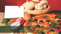 modelo de cartão de visita Pizzaria MBHZPIZ4