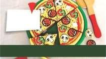 modelo de cartão de visita Pizzaria MBHZPIZ6