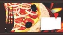 modelo de cartão de visita Pizzaria MBHZPIZ11
