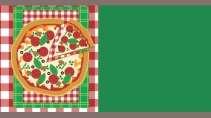 modelo de cartão de visita Pizzaria MBHZPIZ17