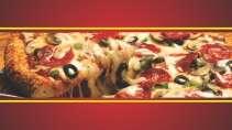 modelo de cartão de visita Pizzaria MBHZPIZ21