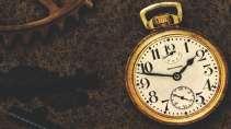 cartão de visita Relógio