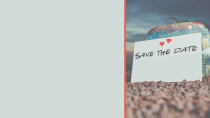 cartão de visita Save The Date
