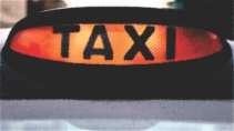 modelo de cartão de visita Táxi MBHZTAX7