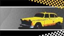 modelo de cartão de visita Táxi MBHZTAX20