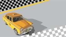 modelo de cartão de visita Táxi MBHZTAX29