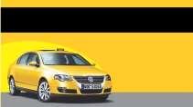 modelo de cartão de visita Táxi MBHZTAX31