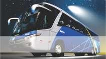 cartão de visita Transporte coletivo