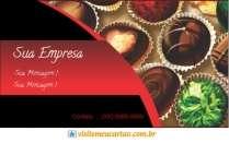 cartão de visita Bomboniere