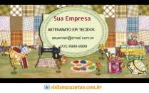 cartão de visita Artesanato