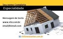 Modelos de cartão de visita Construção