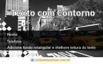 modelo de cartão de visita Táxi MBHZTAX11