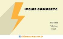 cartão de visita Eletricista