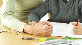 cartão de visita Assistência à infância e Educação