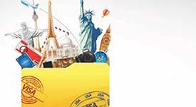 cartão de visita Viagem e Hospitalidade