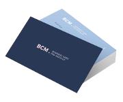 Visite meu cartão | Cartão de Visita | Laminação fosca bopp | 300g - 4X4 Cores | 91mm x 51mm
