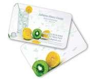 Gráfica Cor | Cartão de Visita | PVC branco 030mm | 30g - 4X4 Cores | 85mm x 54mm