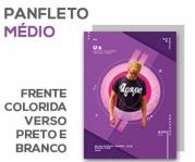 Visite meu cartão | Panfletos | Couchê brilho | 80g - 4x1 | 14x20cm