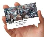 Visite meu cartão | Arte | Foto Cartão de visita | 4X0, 4X1 ou 4X4 | 91mm x 51mm