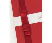 Gráfica Cor | Convite de Casamento | Fitas / Laço Chanel duplo | cetim | 20cm