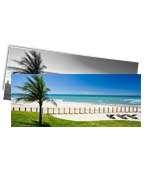 Visite meu cartão | Marcador de página | Couchê verniz total fr | 300g - 4X1 | 153mm x 51m