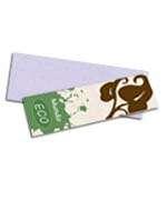 Visite meu cartão | Marcador de página | Reciclato | 250g - 4X4 | 153mm x 51m