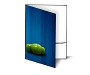 Gráfica Cor | Pasta | Couchê fosco verniz localizado com bolsa | 300g - 4X0 | 450mm x 330mm