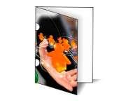 Gráfica Cor | Pasta | Couchê verniz total fr com orelha | 275g - 4X0 | 450mm x 330mm
