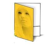 Gráfica Cor | Pasta | Papel importado com bolsa | 250g - 4X0 | 450mm x 330mm