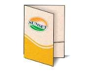 Gráfica Cor | Pasta | Reciclato com bolsa | 250g - 4X0 | 450mm x 330mm