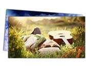 Visite meu cartão | Postal | Couchê verniz total fr | 300g - 4X4 | 182mm x 102mm