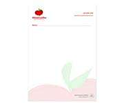 Visite meu cartão | Receituário ou bloco | Apergaminhado | 90g - 4X0 | 10x15cm A6