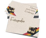 Visite meu cartão | Cartão de Visita | Reciclato | 250g - 4X4 Cores | 91mm x 51mm