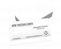 depoimento positivo de Amir sobre cartão de visita online