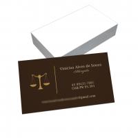 depoimento positivo de Vinícius sobre cartão de visita online