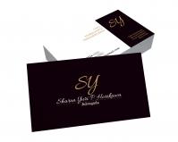 depoimento positivo de Sharon sobre cartão de visita online